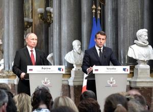 Макрон заявив про готовність посилити санкції проти Росії за Україну - фото