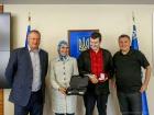Аваков нагородив Окуєву ще одним пістолетом