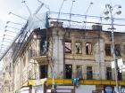 КМДА: власник згорілої пам′ятки архітектури на Хрещатику повинен відновити будівлю