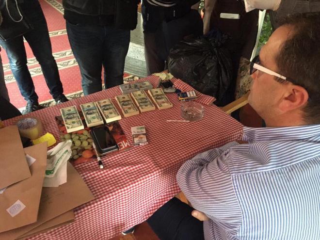 На хабарі затримано високопосадовця «Укрзалізниці» - фото