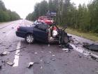 На Рівненщині легковик зіткнувся з лісовозом: 4 загиблих. Доповнено