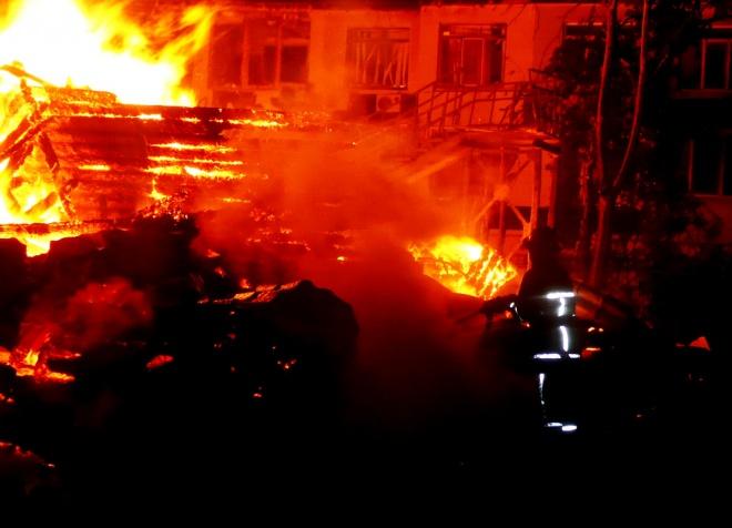 Пожежа вдитячому таборі Одеси