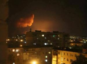 Під Вінницею горять військові склади, вибухають боєприпаси - фото