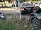 Поліцейський хабарник потрапив у ДТП, втікаючи від СБУ
