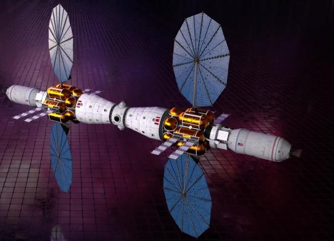 Lockheed Martin представила проект марсіанської орбітальної станції - фото