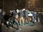 У Києві розгромили недобудовану АЗС «ОККО», є постраждалі