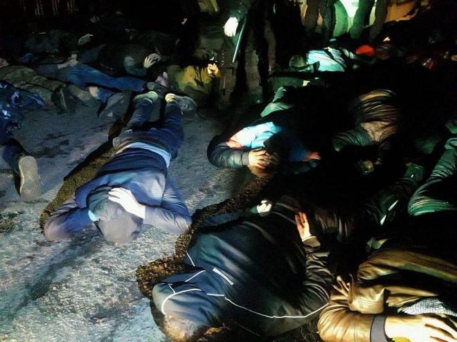 На полтавщині затримали 40 молодиків за напад на агропідприємство - фото