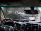 ОБСЄ показала військову техніку в окупованому Луганську