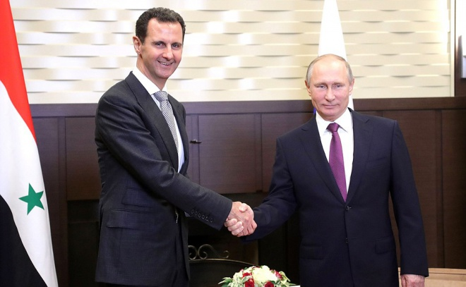 Путіна навідав Асад із Сирії - фото