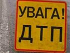 У Києві після зіткнення перекинулася маршрутка з людьми, є постраждалі