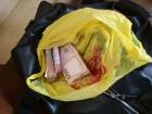 Громадянин Грузії намагався вивезти крупну суму грошей з окупованих територій