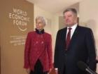 Лагард під час зустрічі з Порошенком закликала до прискорення реформ в Україні