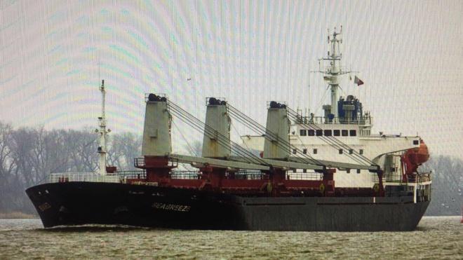 Заарештовано судно російської компанії, що краде у України пісок - фото