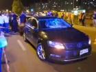 На Позняках поліцейське авто збило дитину