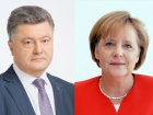 Меркель розповіла Порошенкові про свою розмову з Путіним