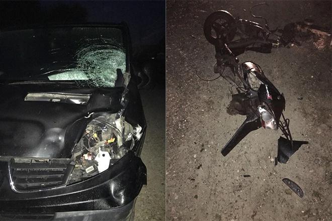 На Львівщині п'яний поліцейський на смерть збив двох людей - фото