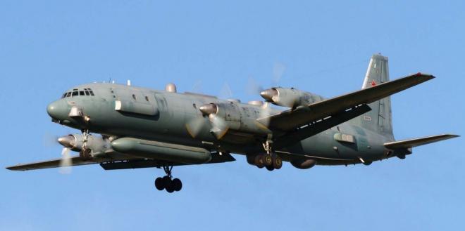 Біля Сирії збили російський військовий літак - фото