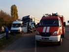 На Черкащині вантажівка протаранила автобус з дітьми