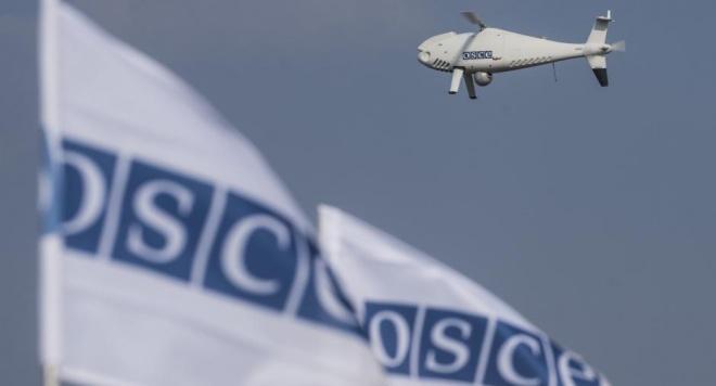 ОБСЄ втратила безпілотник, спостерігаючи за колоною біля кордону з РФ - фото