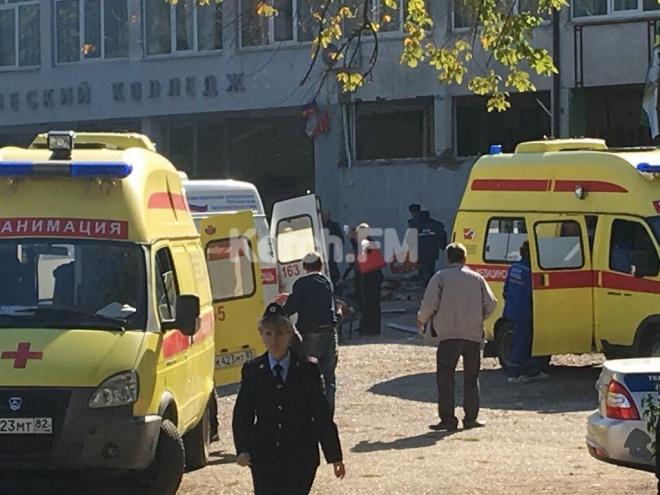 В Керчі в технікумі вибух, заявляють про 10 загиблих - фото