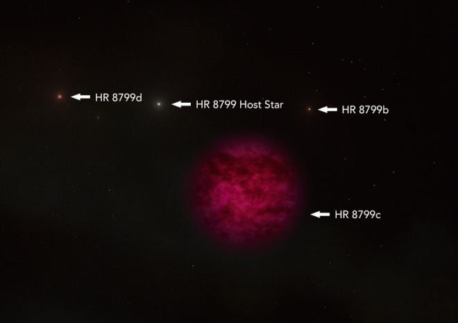 Астрономи знайшли воду на планеті за 129 світлових років від нас - фото