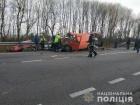 На Рівненщині мікроавтобус врізався в бензовоз: троє загиблих