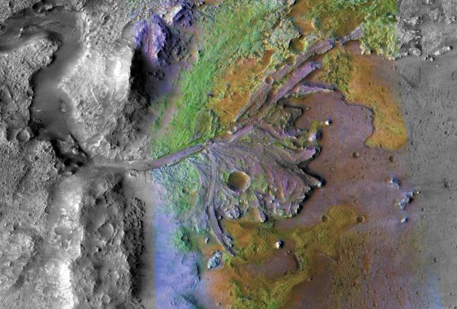 NASA обрала цікаве місце для висадки марсохода - фото