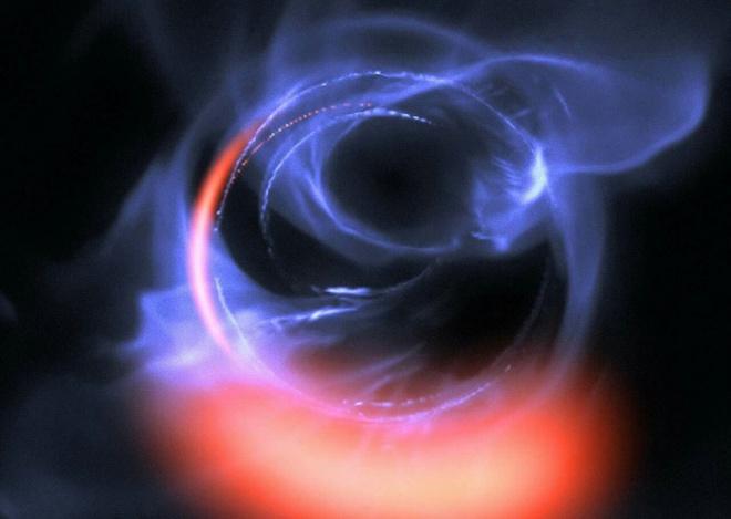 Вчені знайшли підтвердження існування гігантської чорної діри в центрі нашої галактики - фото