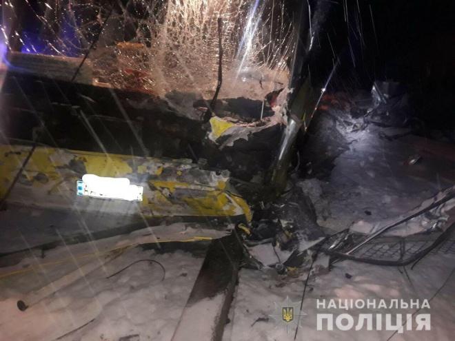 В ДТП за участю автобуса на Львівщині загинуло 4 особи - фото