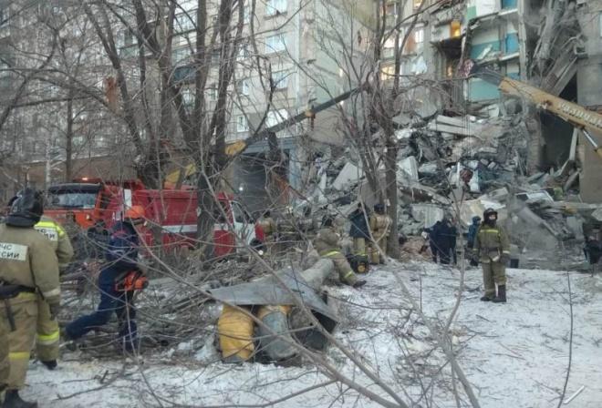В Магнітогорську стався вибух і обвалення в житловій багатоповерхівці - фото