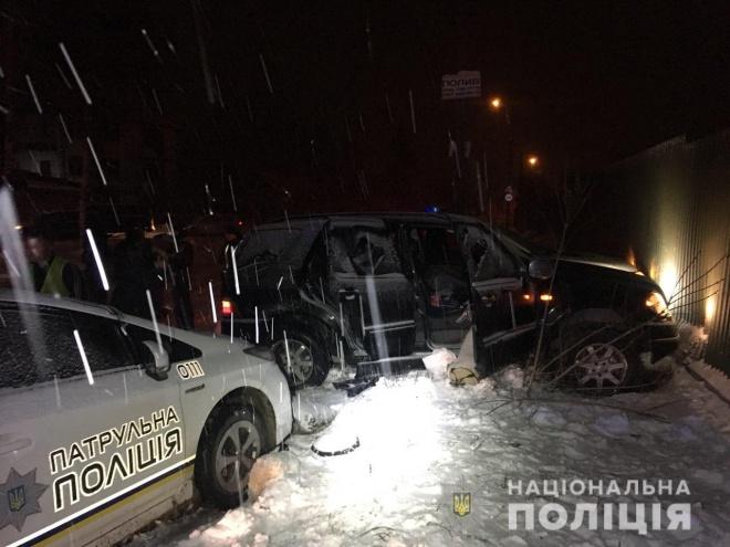 В Рівному внаслідок погоні за порушником травмовано трьох поліцейських - фото