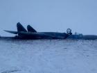 З'явилися фото з місця падіння Су-27 на Житомирщині