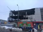 Крупна пожежа охопила ТЦ Міраж у Харкові