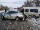 На Харківщині лекговик врізався в мікроавтобус: 4 загиблих, 9 травмованих