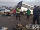 На Одещині в ДТП за участю маршрутки загинув один пасажир, багато постраждалих