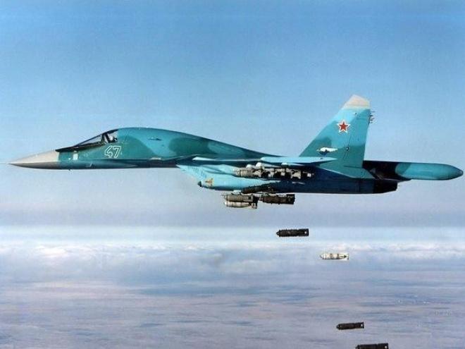 В Росії одночасно розбилися два Су-34 - фото