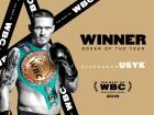 WBC визнала Усика боксером року