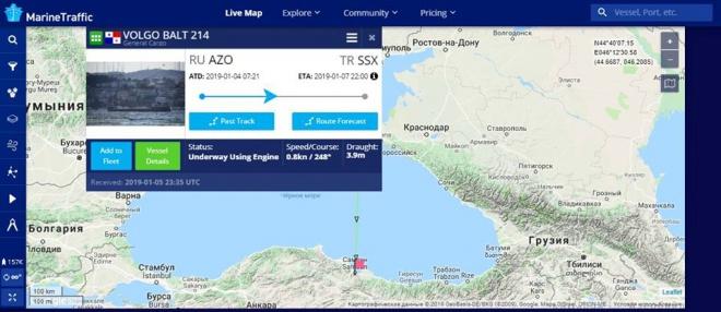 Затонуле під Туреччиною судно могло перевозити крадене на Донбасі вугілля - фото