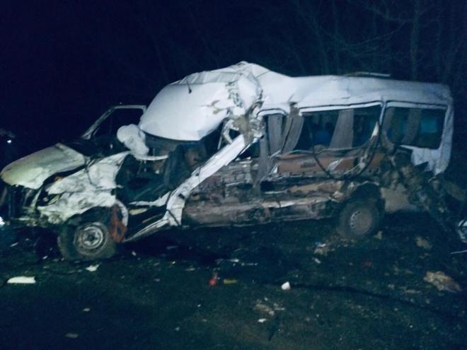 Затримано водія, який врізався в автобус і загинули двоє поліцейських - фото