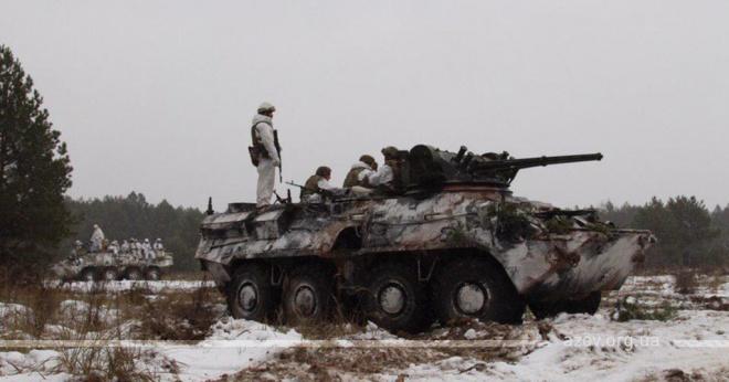 «Азов» повернувся на передову - фото