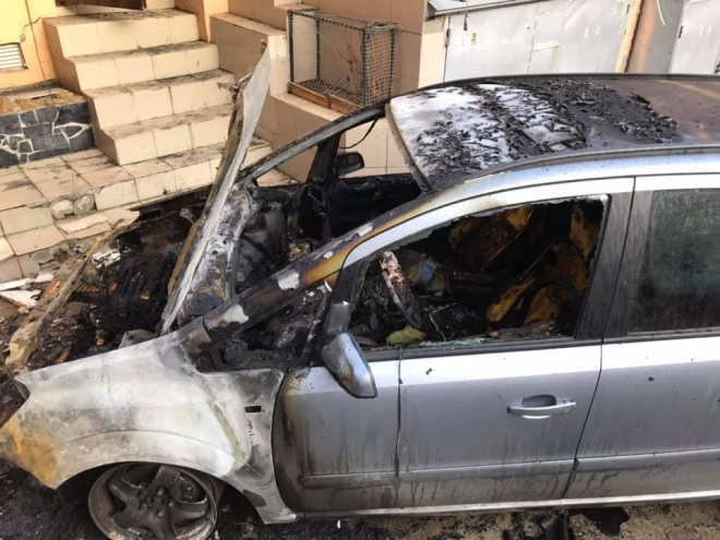 В Одесі підпалили автівку активіста - фото