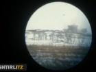Залишки бліндажу окупантів зробили «феєричні кульбіти» у повітрі
