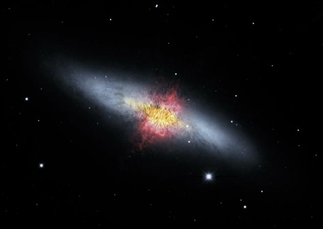 Галактичний вітер надає підказки у питаннях еволюції галактик - фото