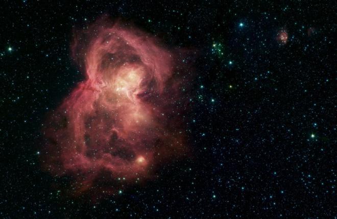 """""""Космічний метелик"""" - домівка сотень новонароджених зірок - фото"""
