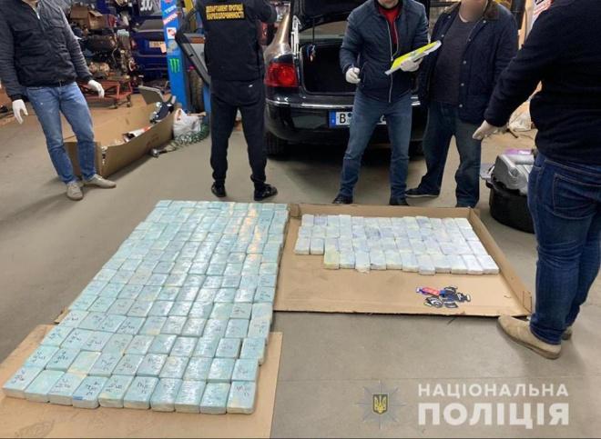 На Київщині затримано іноземця зі 100 кг героїну - фото
