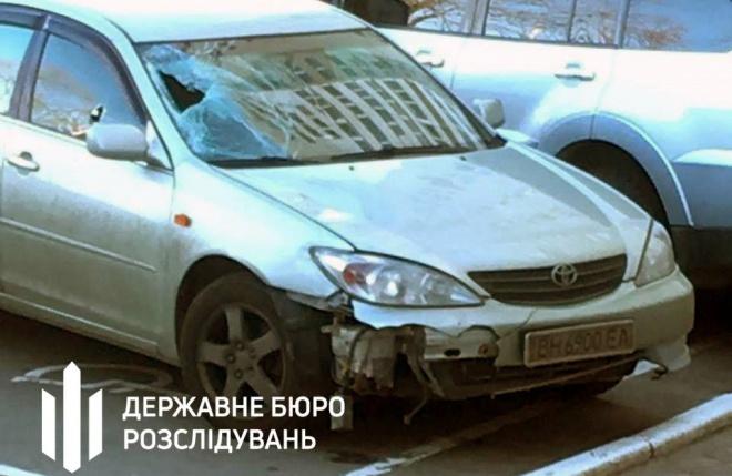 У Броварах п'яний поліцейський на автівці на смерть збив пішохода - фото