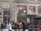 В поліції розповіли ким є затриманий за підпал магазину Рошен на Хрещатику