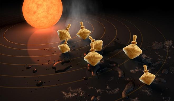 Випадок з надмірно нахиленими екзопланетами - фото