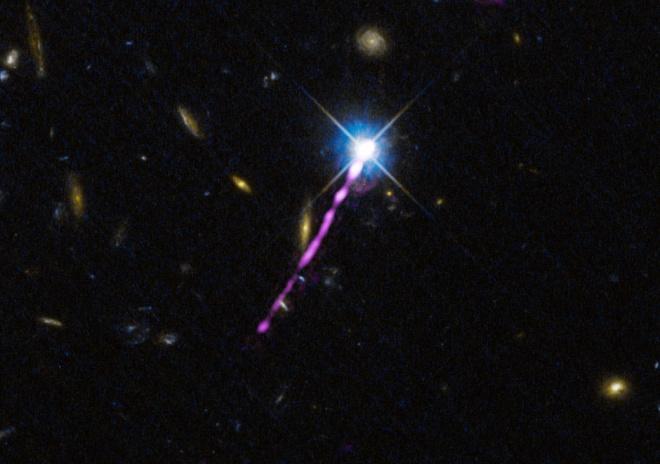 Втрата енергії дає несподівані погляди на еволюцію квазарів - фото