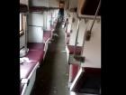Футбольні фанати розгромили вагони поїзду Львів-Запоріжжя, відео